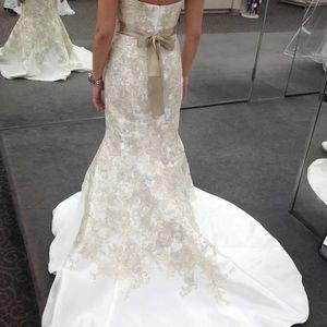Oleg Cassini Wedding Dress New with tags